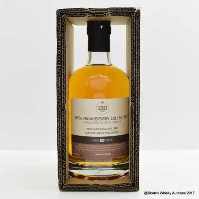 Macallan 1990 20 Year Old DFDS 150th Anniversary