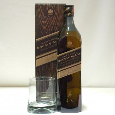 Johnnie Walker Double Black & Glass