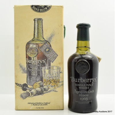 Burberry's 1968 20 Year Old Replica Bottling 75cl