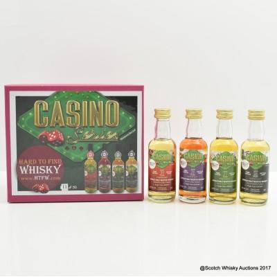 Tobermory Miniature Set Casino Series 4 x 5cl