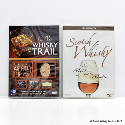 On The Whisky Trail DVD & Scotch Whisky 'The Myth And The Magic' DVD