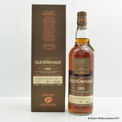 GlenDronach 1995 20 Year Old Single Cask #3047
