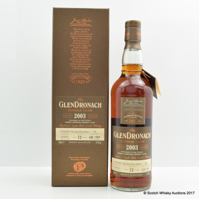 GlenDronach 2003 12 Year Old Single Cask #930