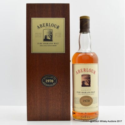 Aberlour 1970 21 Year Old 75cl