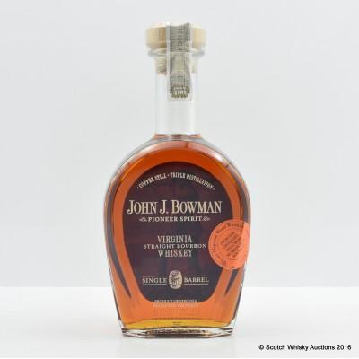 John J. Bowman Pioneer Spirit Single Barrel 75cl