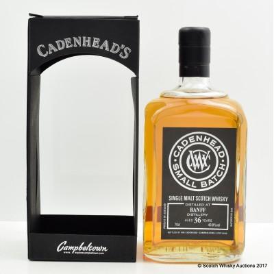 Banff 36 Year Old Cadenhead's