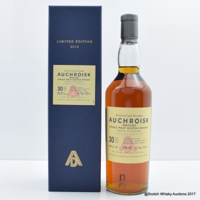 Auchroisk 30 Year Old Limited Edition 2012 Release