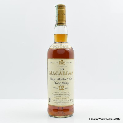 Macallan 12 Year Old Old Style
