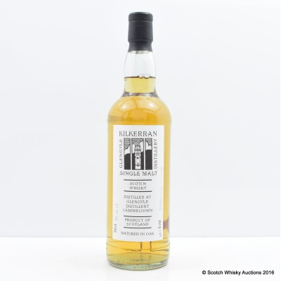Kilkerran 2009 Distillery Only Bottling