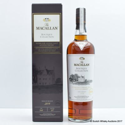 Macallan Boutique Collection 2016 Release Taiwan Exclusive