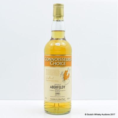 Aberfeldy 1991 Connoisseurs Choice