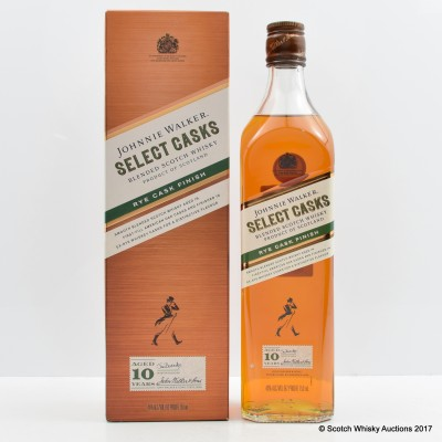 Johnnie Walker 10 Year Old Rye Cask Finish 75cl