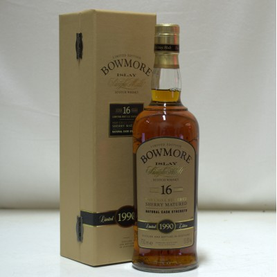 Bowmore 1990 16 Year Old Sherry Matured
