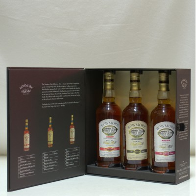 Bowmore Cask Collection Dawn, Dusk & Darkest 3 X 20cl