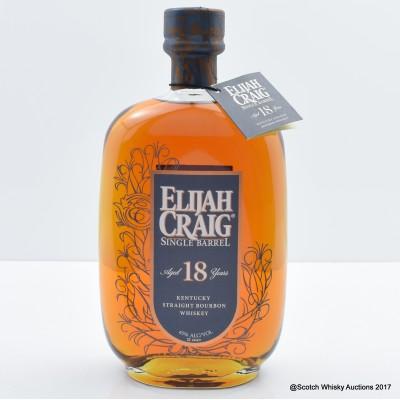 Elijah Craig 18 Year Old Single Barrel 75cl