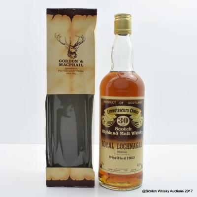 Royal Lochnagar 1952 30 Year Old Connoisseurs Choice 75cl