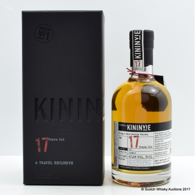 Kininvie 17 Year Old Batch #1 35cl