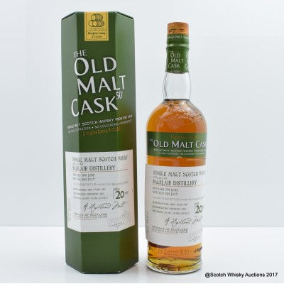 Balblair 1990 20 Year Old Old Malt Cask