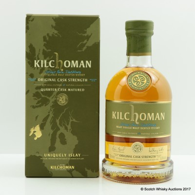 Kilchoman Original Cask Strength 2016 Release