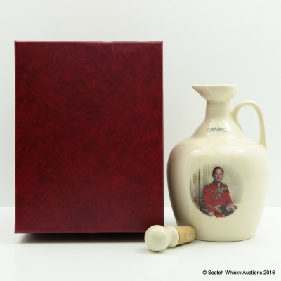 Rutherford's Ceramic Decanter Prince Philip