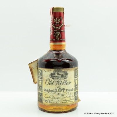 Old Weller 7 Year Old 75cl