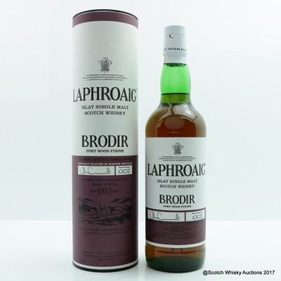 Laphroaig Brodir Port Finish Batch #2