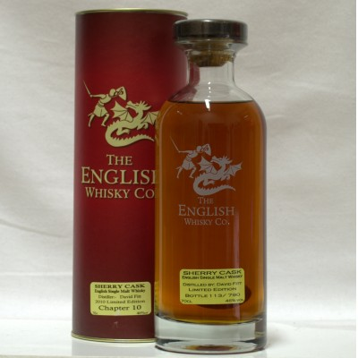 English Whisky Co Chapter 10 Sherry Cask