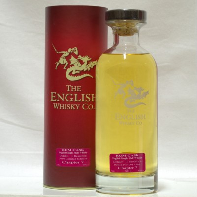 English Whisky Co Rum Cask 1st Release