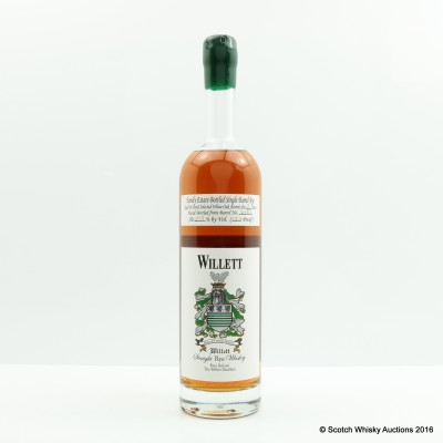 Willet Single Barrel Rye 3 Years Old 75cl