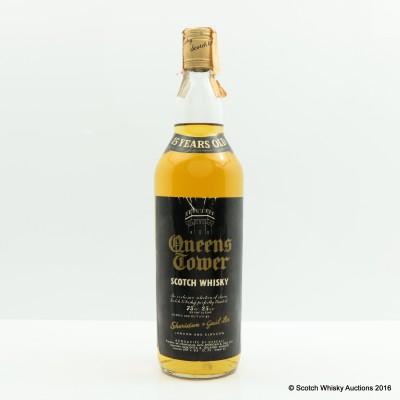 Queens Tower 15 Years Old 75cl