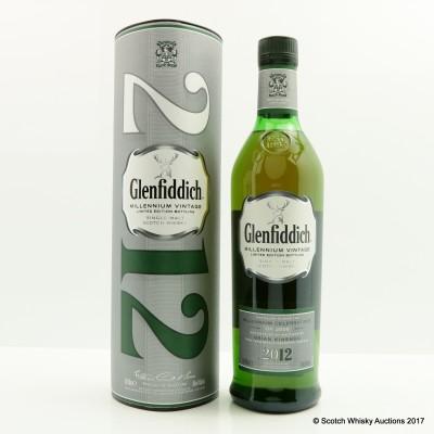 Glenfiddich Millennium Vintage 2012