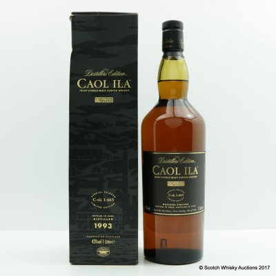 Caol Ila Distillers Edition 1993 1L