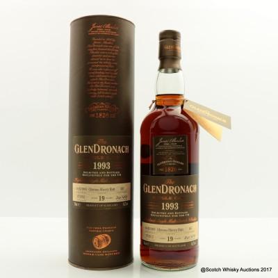 GlenDronach 1993 19 Year Old Single Cask #487