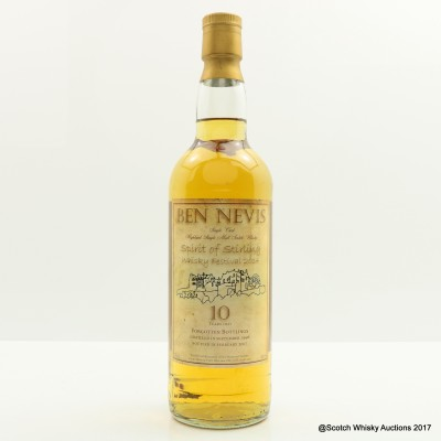 Ben Nevis 1996 10 Year Old Spirit Of Stirling Whisky Festival 2014