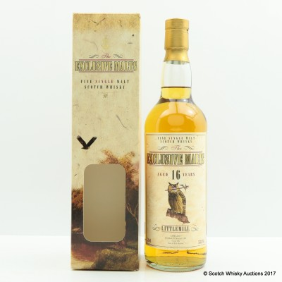 Littlemill 16 Year Old Exclusive Malts