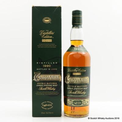 Cragganmore Distillers Edition 1990