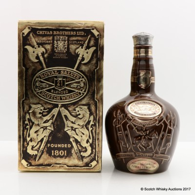 Chivas Royal Salute 21 Year Old Brown Flagon 75cl