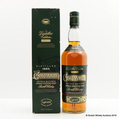 Cragganmore Distillers Edition 1985