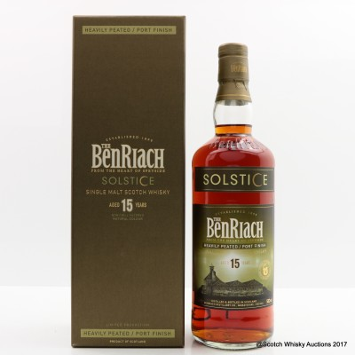 BenRiach 15 Year Old Solstice