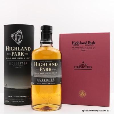 Highland Park Hobbister With Highland Park 'A Good Foundation' Book