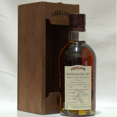Aberlour 16 Year Old Warehouse No 1