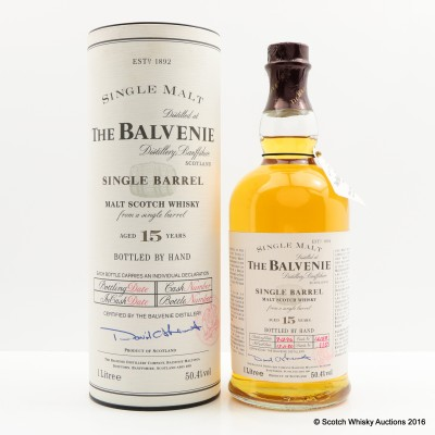Balvenie 1980 15 Year Old Single Barrel 1L