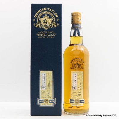 Bowmore 1987 17 Year Old Duncan Taylor