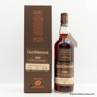 GlenDronach 1993 23 Year Old Single Cask