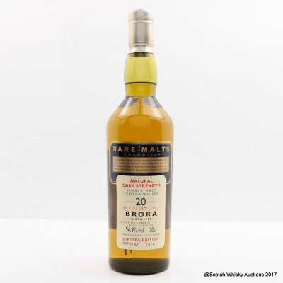 Rare Malts Brora 1975 20 Year Old