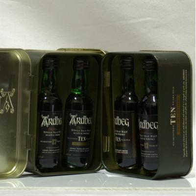 Ardbeg 17 & 10 Year Old Twin Pack In Tin X 2 Mini's