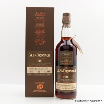 GlenDronach 1990 26 Year Old Single Cask #2973