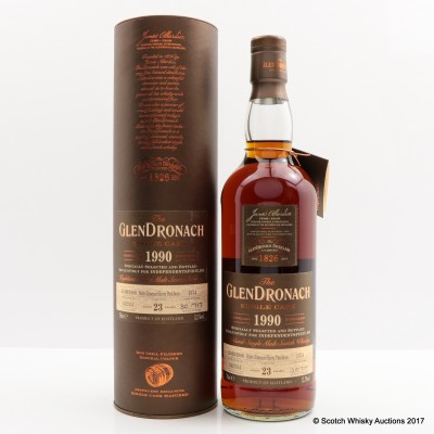 GlenDronach 1990 23 Year Old Single Cask #1374 For Independent Spirit
