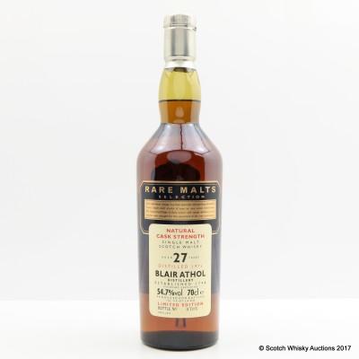 Rare Malts Blair Athol 1975 27 Year Old