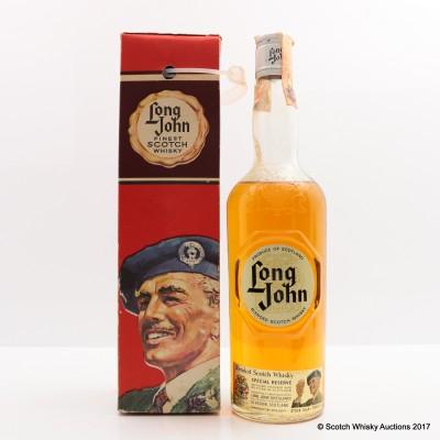 Long John Blended Scotch 75cl